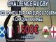 Challenge Tournoi des 6 Nations de Rugby avec ParionsWeb : 1.500€ d'e-credits mis en jeu chaque week-end