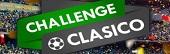 Jackpot de 10.000 euros et des places à gagner sur Unibet en plaçant vos paris lors du Challenge foot Classico