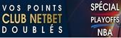 Pariez sur les Playoffs de NBA avec NetBet