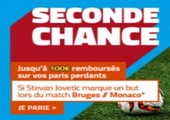Seconde chance PMU Bruges Monaco